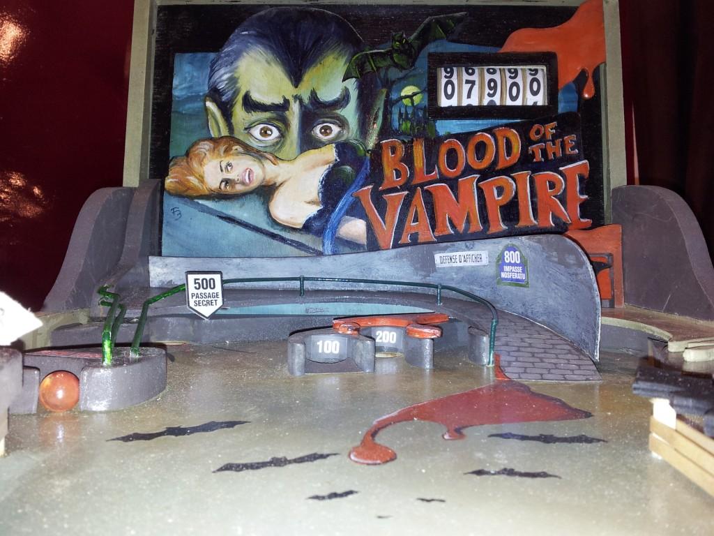 Flipper vampire détail