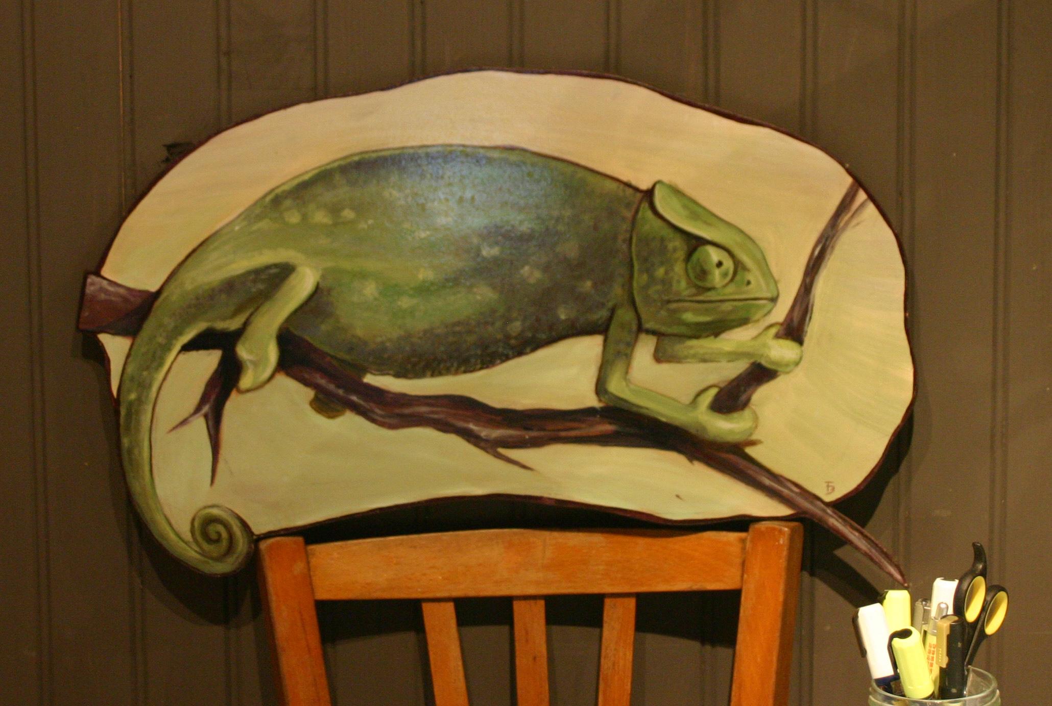 Animaux sur bois la folle id e for Peinture sur bois vernis