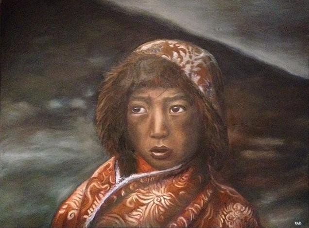 enfant-tibetin