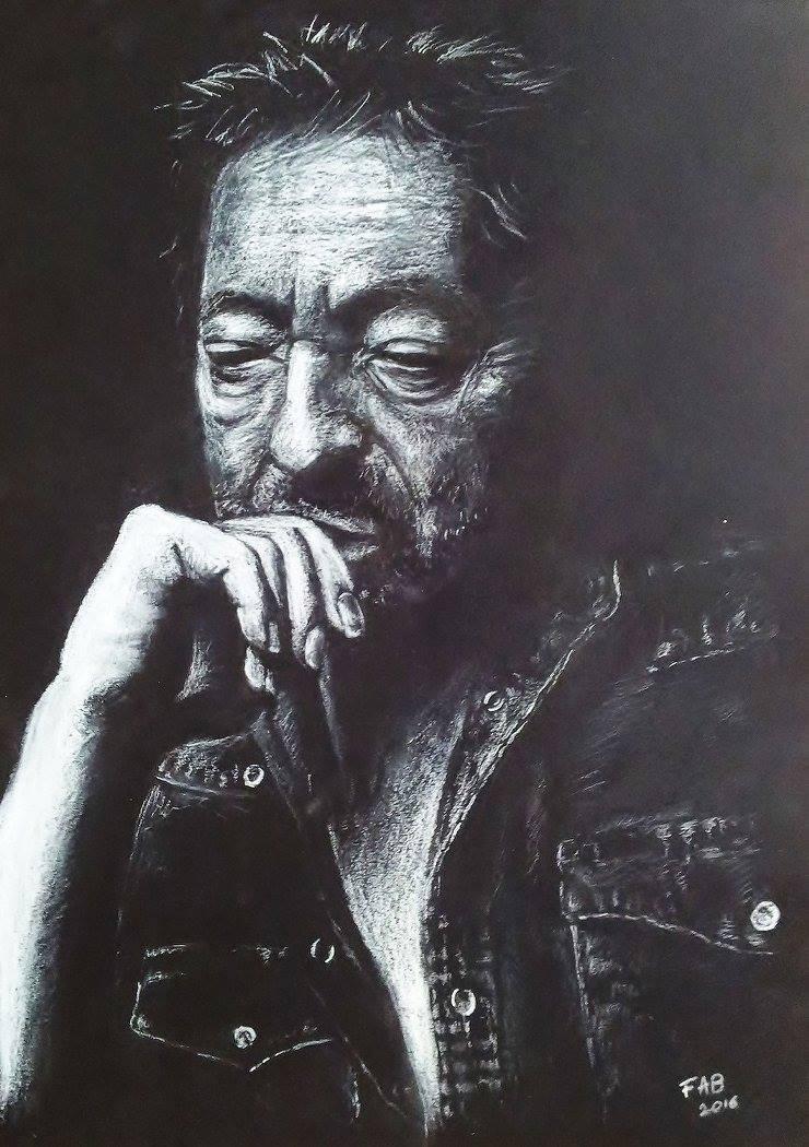 Serge Gainsbourg Dessin