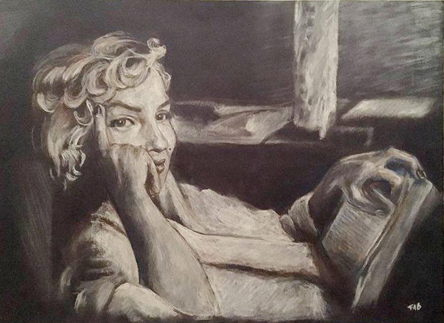 Marylin Monroe portrait