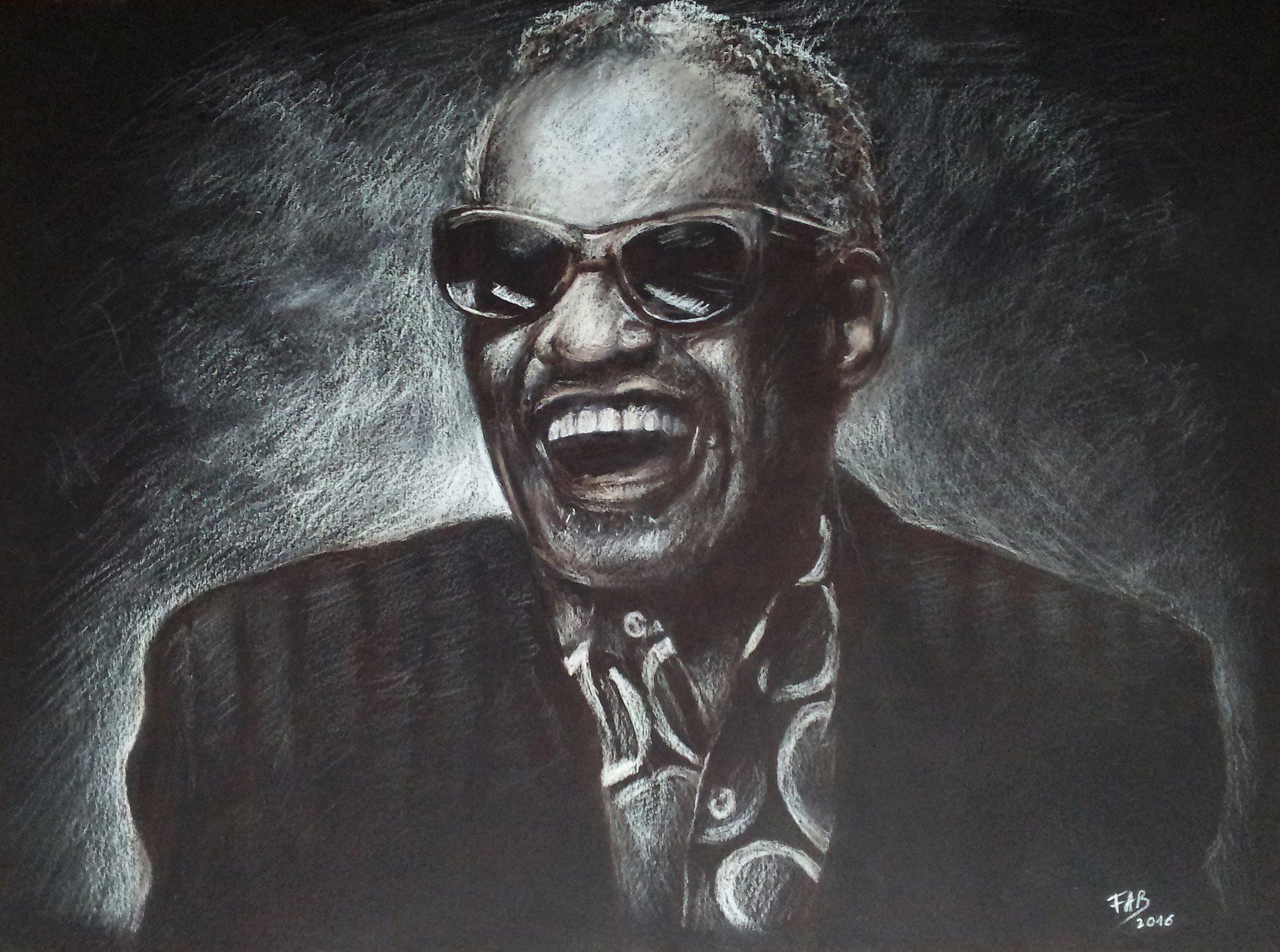 Ray Charles dessin