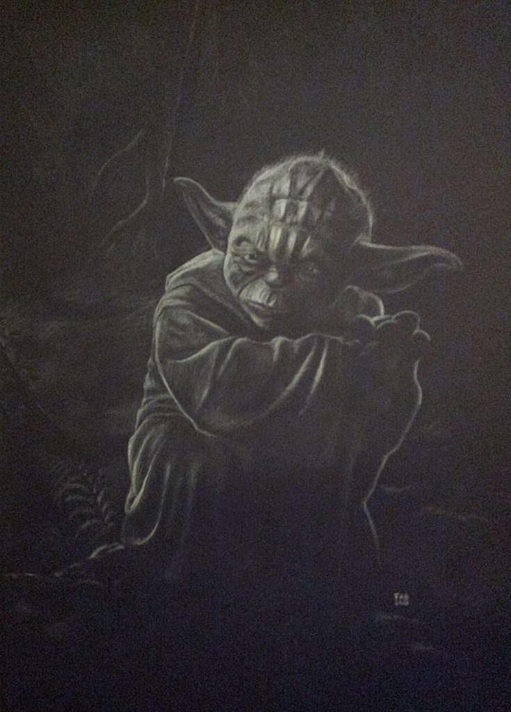 Maître Yoda dessin