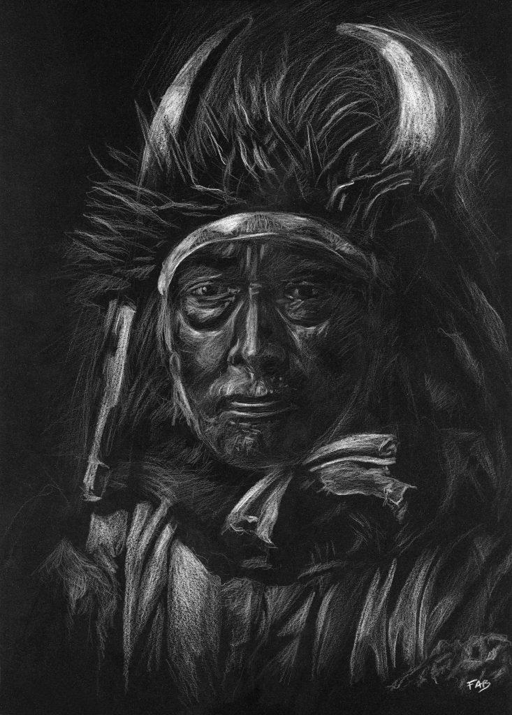 Chef indien dessin
