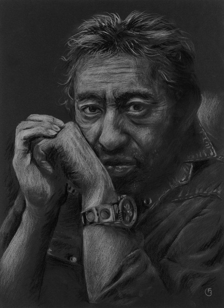 Gainsbourg portrait dessin