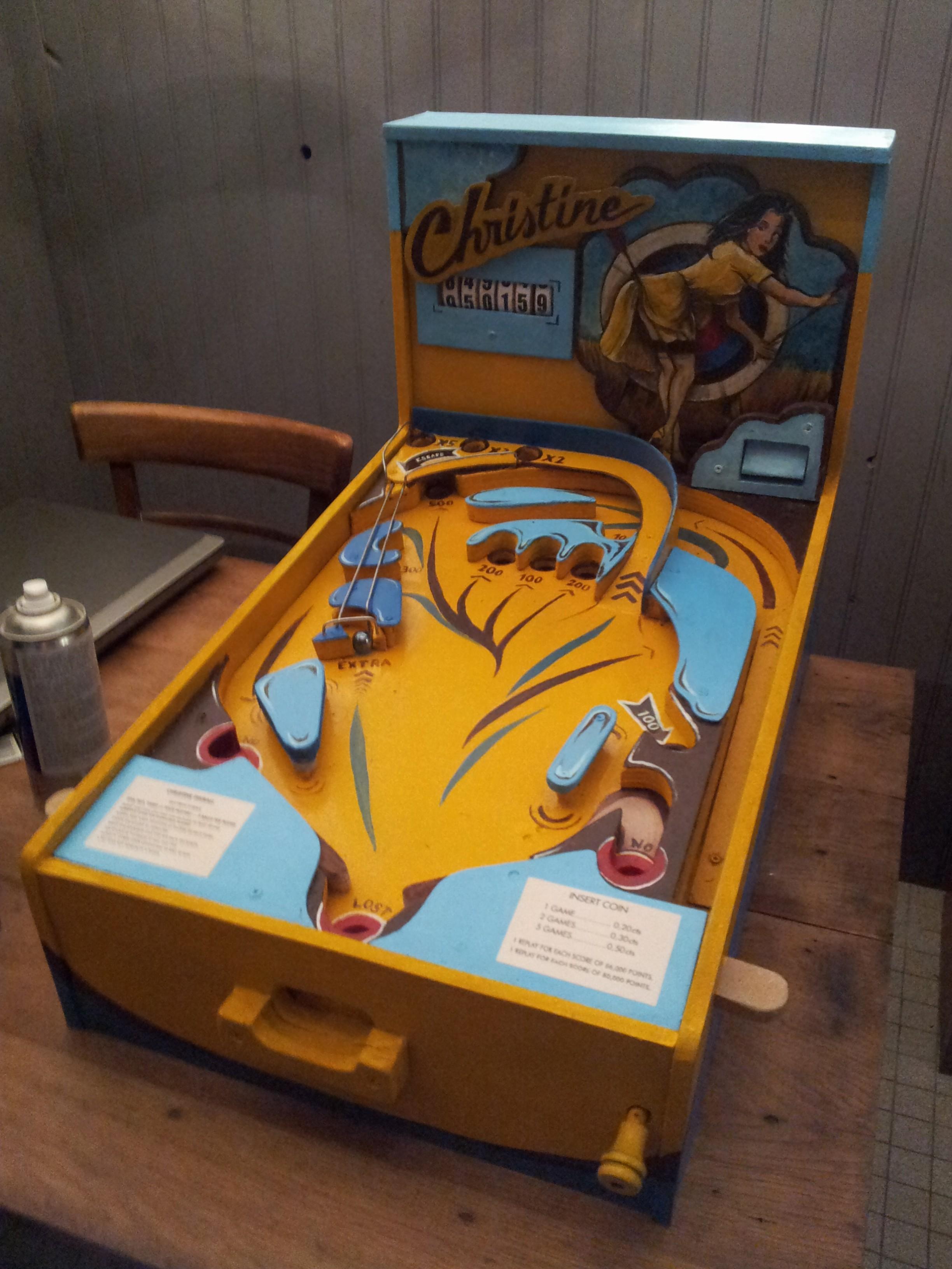 Flipper bois Christine